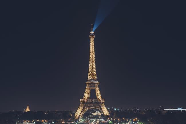 Paris tour eiffel nuit