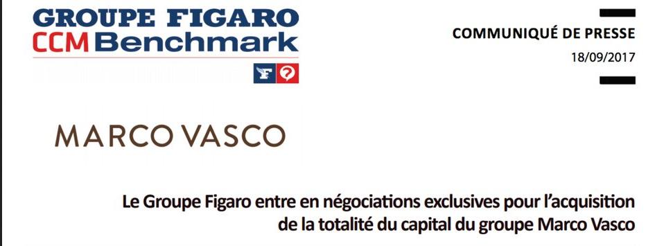 Le groupe figaro rachète Marco Vasco, le spécialiste du voyage personnalisé