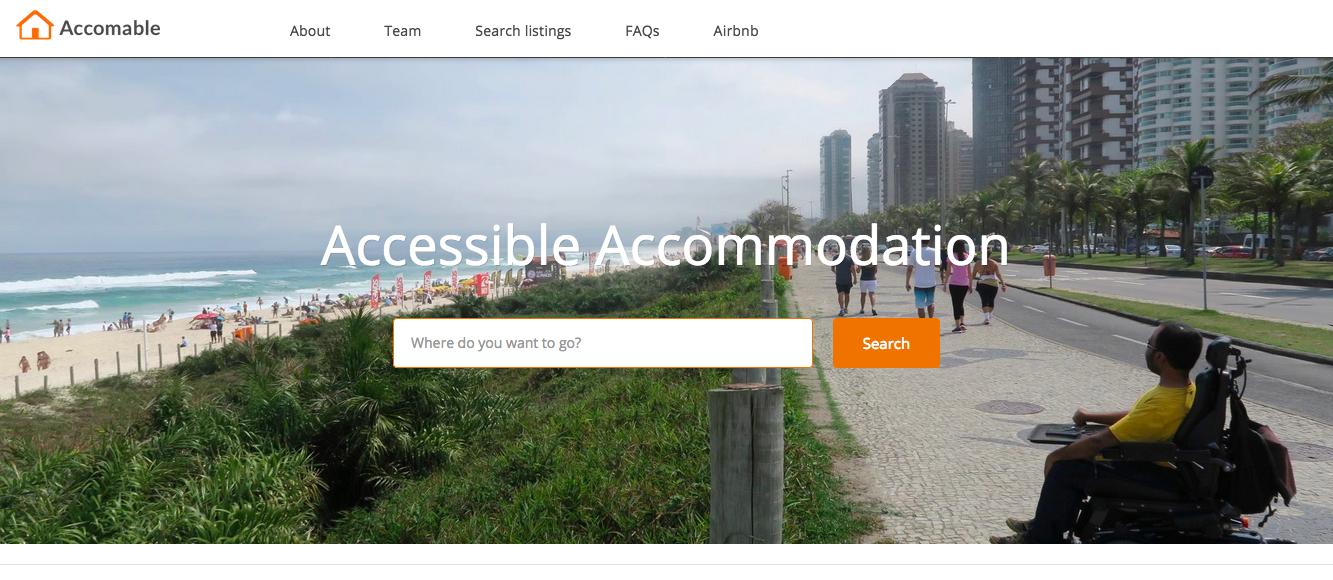 Airbnb rachète accomable la plateforme qui trouve des biens pour les vacances aux handicapés