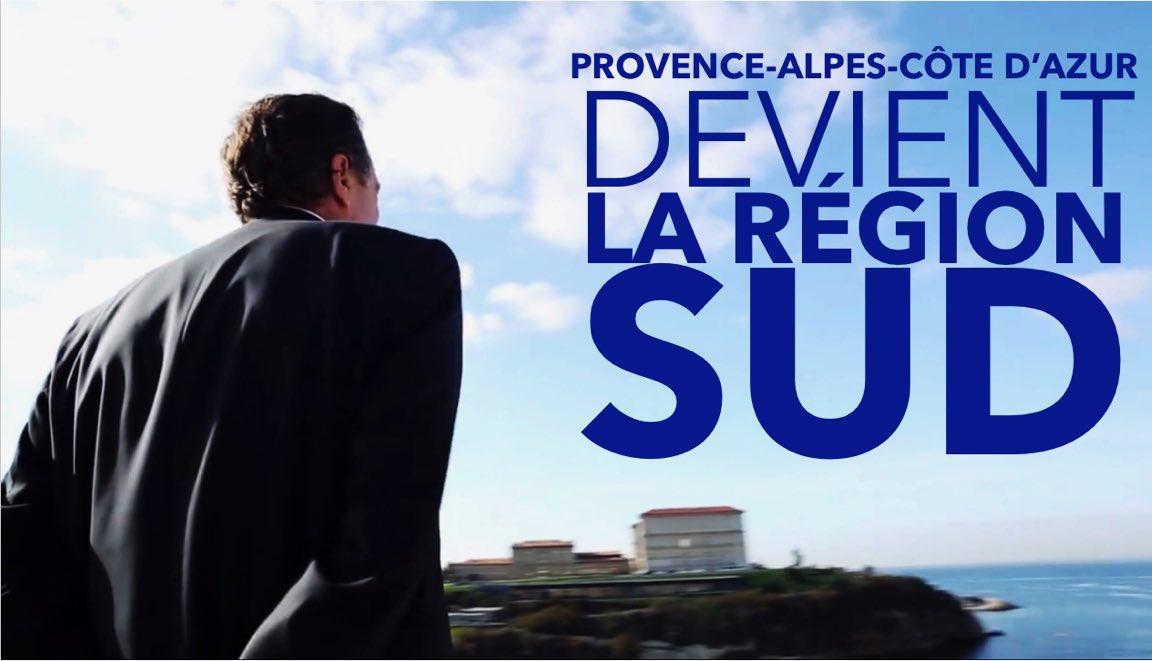 Région Sud Provence Alpes Côte d'Azur le nouveau nom officiel de la région Paca ?