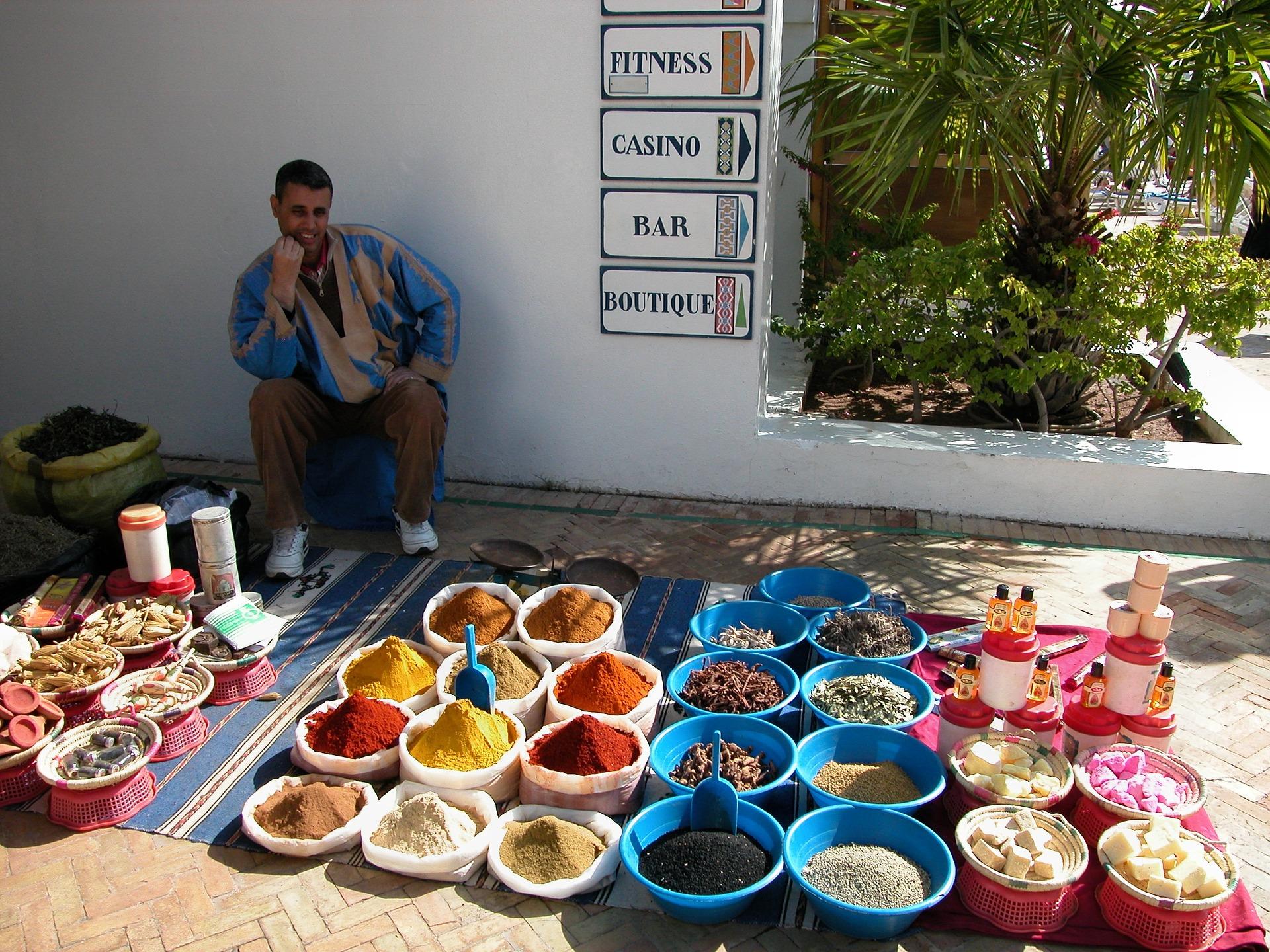 Un petit tour à travers les marchés d'Agadir